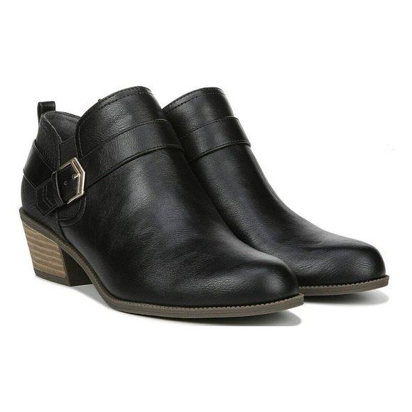 Dr Scholls Essential Collection Bobbi Black Shoes